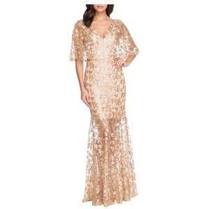 Dress The Population Lourdes Sequin Lace Gown